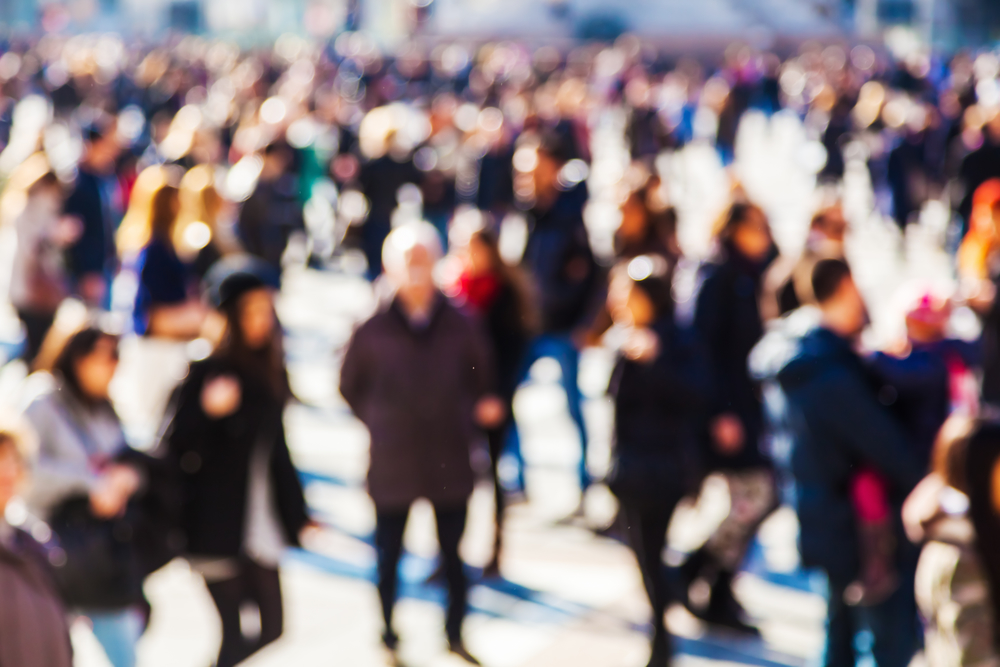 crowd counting, footfall traffic, visitor counting
