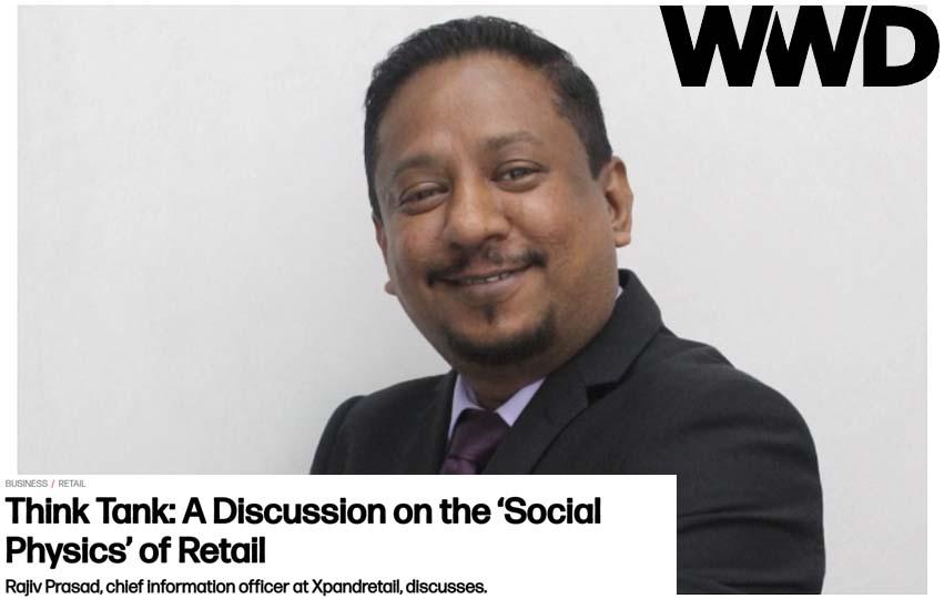social physics, rajiv prasad, retail analytics, big data